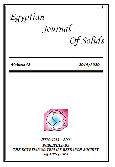 Egyptian Journal of Solids